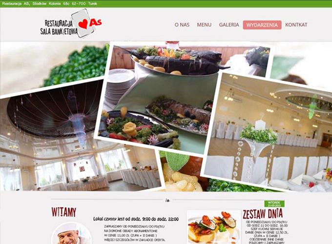strony www kielce - apsolution.pl - restauracja as