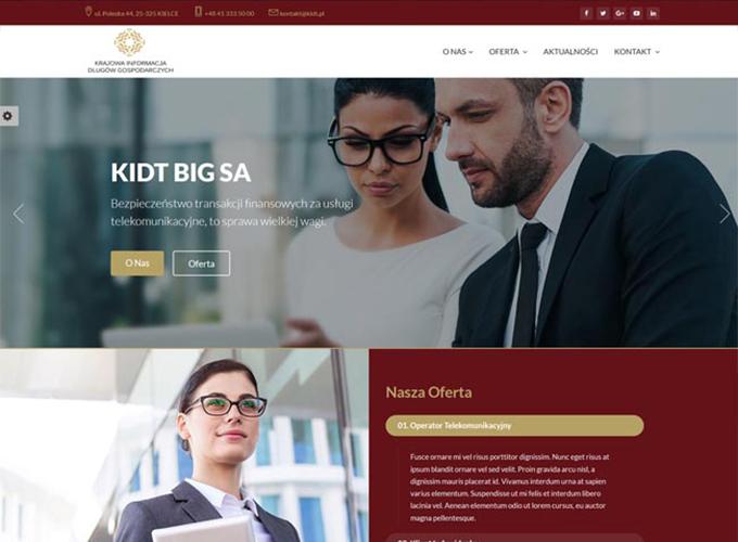 strony www kielce - apsolution.pl - kidt