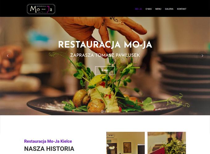 strony www kielce - apsolution.pl - Restauracja Mo-Ja Kielce