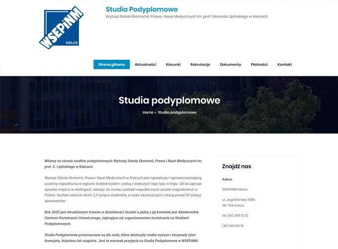 strony www kielce - apsolution.pl - pod wseip.edu.pl