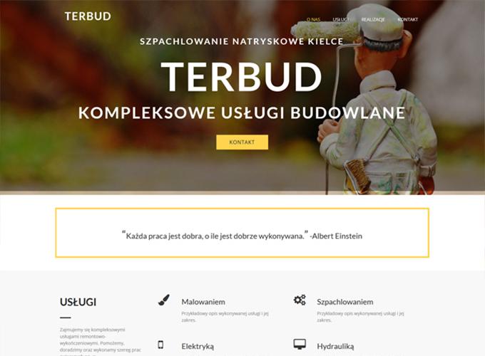 strony www kielce - apsolution.pl - terbud kielce