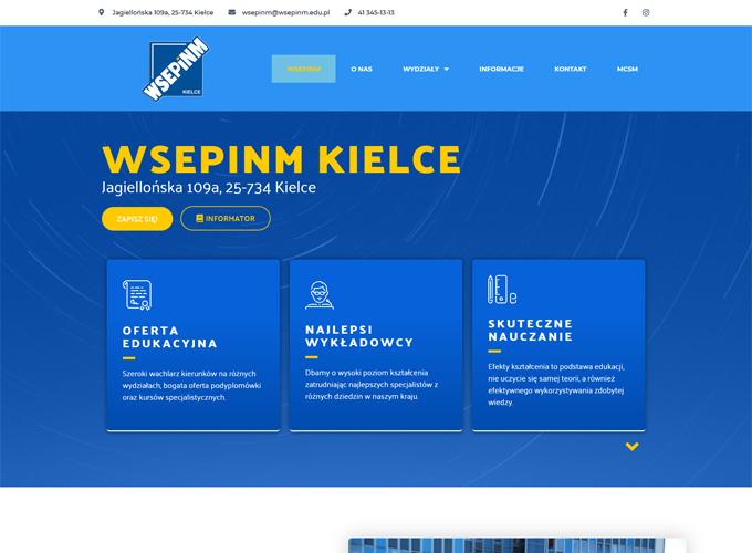 strony www kielce - apsolution.pl - uczelnia.org.pl